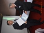 """Dana 03-04. jula 2018. godine u motelu """"Stari hrast"""" u Velikoj Plani održana je 94. međunarodna naučna konferencija pod nazivom """"KORIDORI U SRBIJI I REGIONU JUGOISTOČNE EVROPE"""". Tom prilikom direktoru Centra za strateška istraživanja nacionalne bezbednosti - CESNA B akademiku prof. dr Slobodanu Neškoviću dodeljeno je prestižno regionalno priznanje - PLAKETA ASOCIJACIJE ZA KORPORATIVNU BEZBEDNOST SKOPJE za """"Uspešna sorabotka vo razvojot na korporativnata teorija i praktika"""". Plaketu je uručio predsednik asocijacije i Dekan Fakulteta za detektivi i kriminalistika Evropskog Univerziteta u Skopju prof. dr Atanas Kozarev. Posle navedenog, direktor CESNA B akademik prof. dr Slobodan Nešković uručio je POVELJU CENTRA ZA STRATEŠKA ISTRAŽIVANJA NACIONALNE BEZBEDNOSTI - CESNA B, BEOGRAD predsedniku Asocijacije prof. dr Atanasu Kozarevu"""